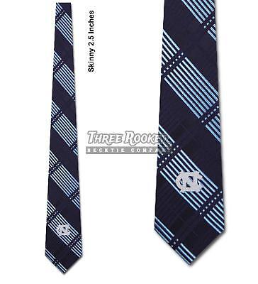 Skinny Tar Heels Tie Neck Ties North Carolina Tar Heels Neckties NWT FREE SHIPPI