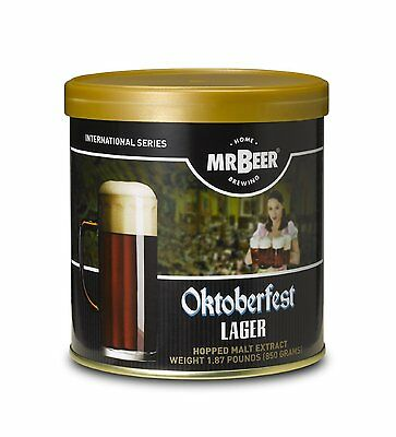 $13.71 - Mr. Beer Oktoberfest Lager Home Brewing Beer Refill Kit, New, Free Shipping