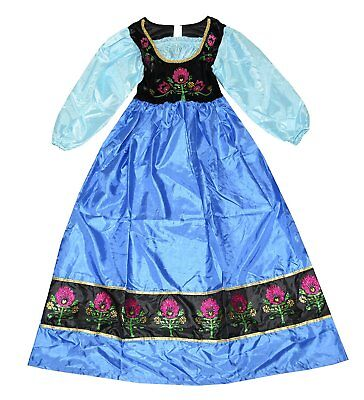 Scandinavian Princess Anna halloween costume Dress (9-11 Years)