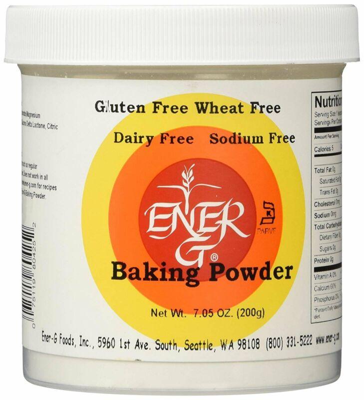 Ener-G Foods Baking Powder, 7.05 oz