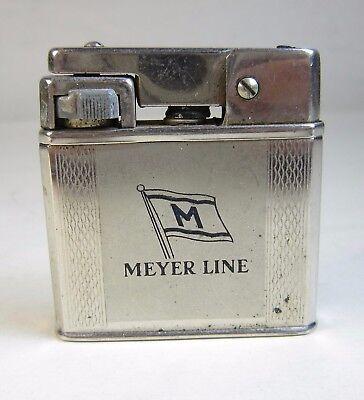 Vint 1960s Meyer Line Norway Norwegian Cruise Ship Weltzunder Lighter