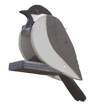 CAROLINA CHICKADEE BIRD FEEDER Backyard Birds Large Amish Handmade in USA