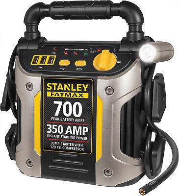 Stanley Portable Jump Starter Battery Power Car Jumper Box 350 Amp 700 Peak NEW
