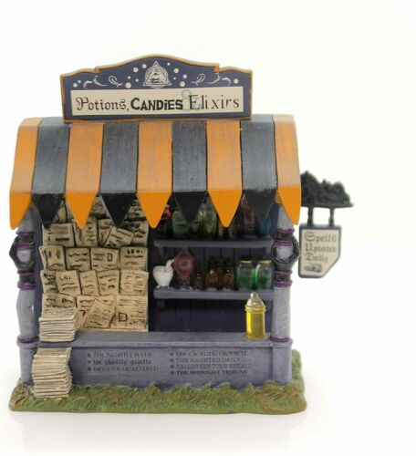 Dept 56 SPELLS AND POTIONS KIOSK Halloween Village Accessory 4057617 NEW IN BOX