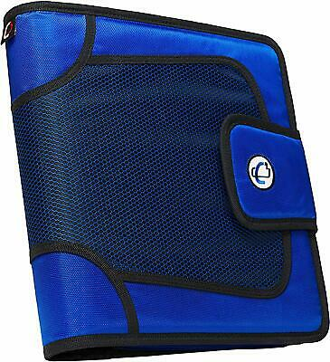 Case-it Open Tab Closure 2-inch Binder With Tab File Blue S-816-blue