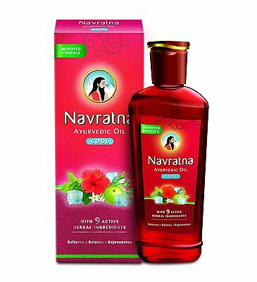 Himani Navratna Oil- 300 ml -Ayurvedic 9 Herbs All Natural Ingredients-US seller for sale  Shipping to India