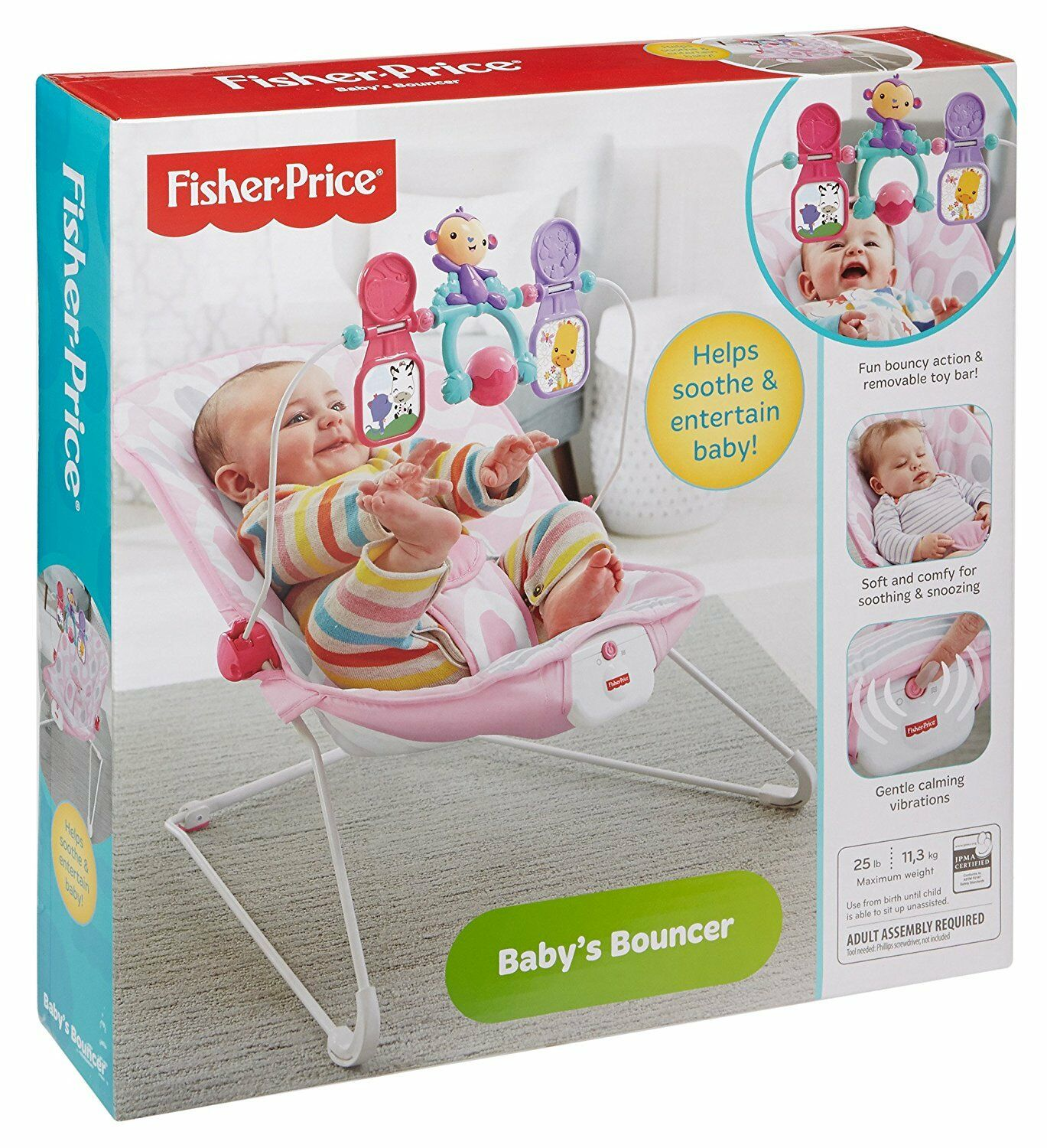 Uncategorized fisher price comfort curve bouncer new free shipping ebay - 33