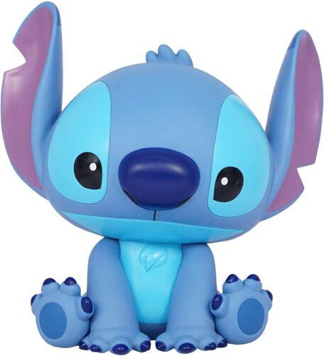 "Stitch 10"" Molded PVC Plastic Figure Coin Bank Piggy Bank Disney Lilo & Stitch"