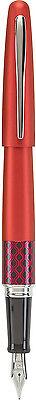 Pilot Metropolitan MR Retro Pop Fountain Pen – RED w/ Accents – Fine Nib – New Collectibles