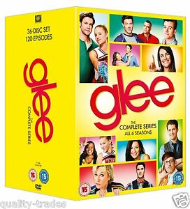 ❏ GLEE Series 1 - 6 DVD Complete Final Collection Seasons Box Set ❏ 1 2 3 4 5 6