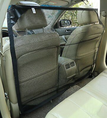 Zone Tech Vehicle Car Travel Pet Car Back Seat Net Mesh Dog Barrier 46x37""