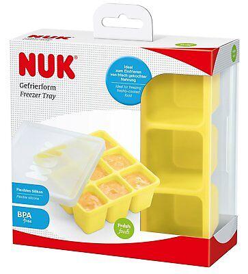 NUK Fresh Foods Gefrierform zum Einfrieren von Babynahrung Aufbewahren 60ml NEU