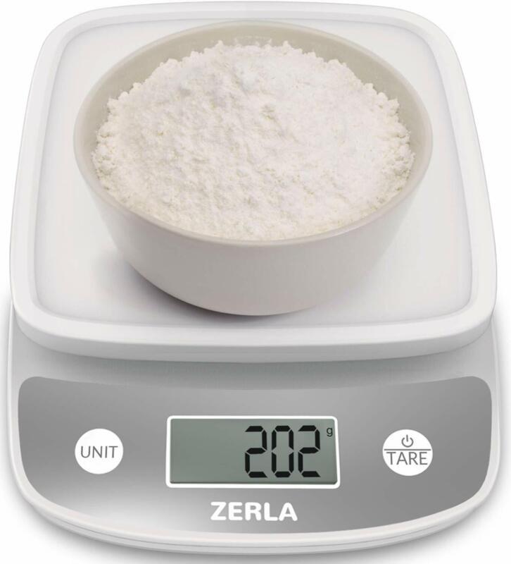 Digital Kitchen Scale by ZERLAMultifunction Food Scale wit