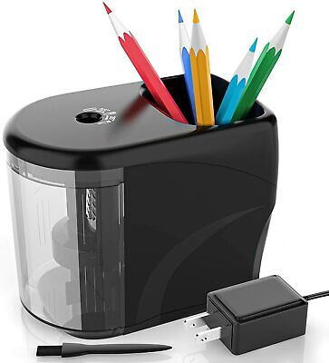 Electric Pencil Sharpener Heavy-duty Helical Blade Colored Pencil Sharpener