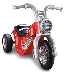 Power Wheels Harley Davidson Lil' Harley Motorcycle 6V Electric Ride-On | X6222