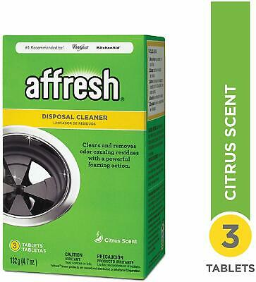 Affresh Garbage Disposal Cleaner, Citrus Scent, Scrubbing Action    (3 Tablets)