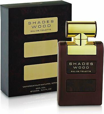 Armaf Shades Wood Eau de Toilette Perfume For Men 3.4 FL.OZ (Shades Wood)