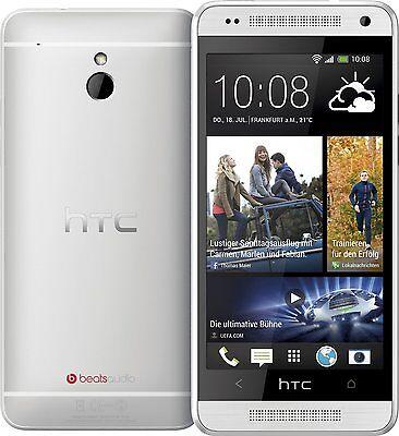 HTC ONE MINI Silver - Quad Core 16Gb 4G Android Smartphone mit BeatsAudio™ - NEU