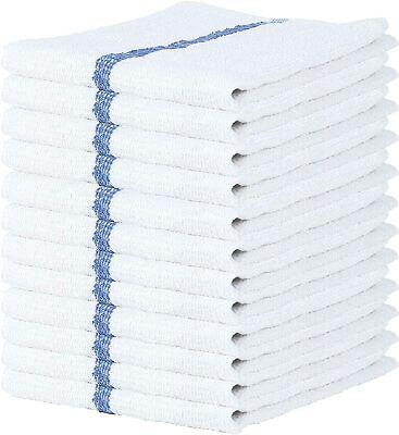 """Bar Mop Towel 12 -24 Pcs Cleaning Kitchen Towels 16""""x19"""" Cotton Wholesale Lot"""