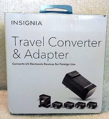 Insignia Travel Adapter and Converter -