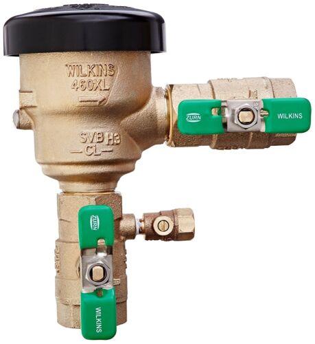 """Zurn Wilkins 1-460XL FNPT x FNPT Spill Resistant Pressure Vacuum Breaker 1"""""""