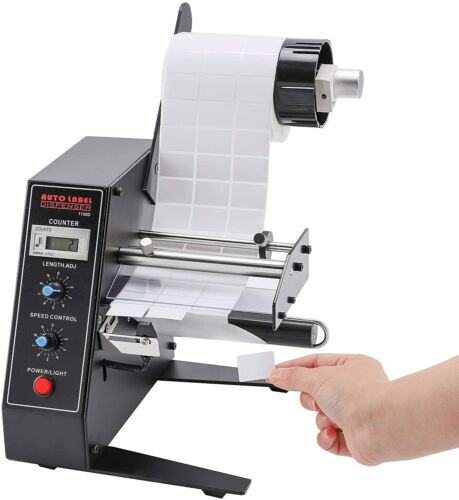High-Speed Automatic Label Dispenser High Power Label Stripper 12W Auto Counting