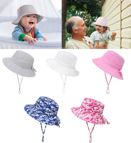 Toddler Kid Baby Boy&Girls Summer Sun Hat Protection Sunscreen Cap Fisherman Hat