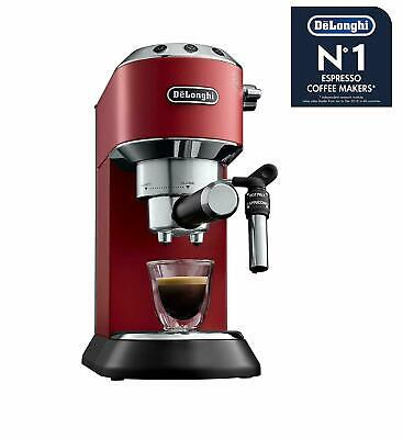 De'Longhi EC685.R ROSSO Dedica Macchina caffè espresso polvere cialde cappuccino