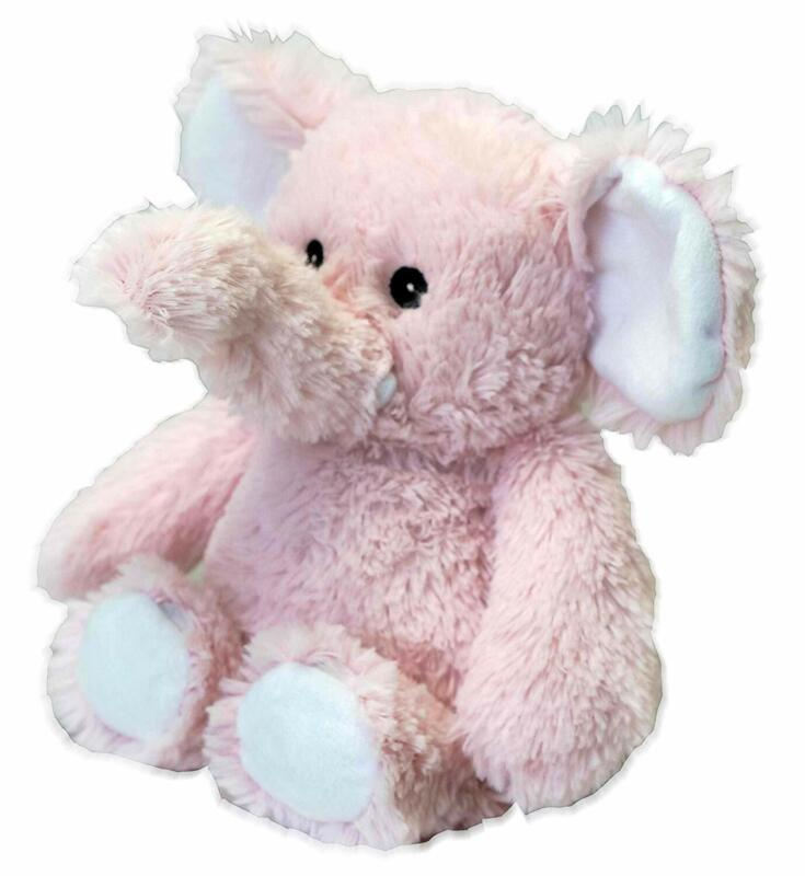 Warmies® Microwavable French Lavender Scented Plush Pink Elephant