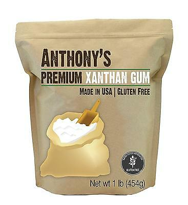 Xanthan Gum 1lb (16 Ounce) Made in the USA, by Anthony