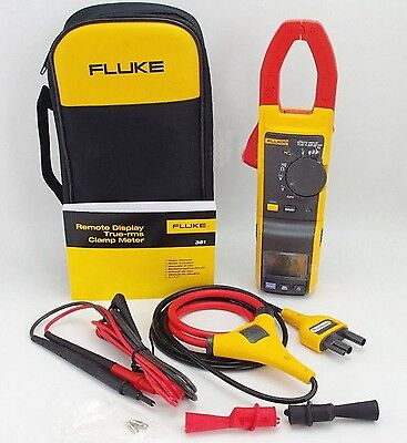 New Fluke 381 F381 Remote Display True Rms Acdc Clamp Meter Tester With Iflex