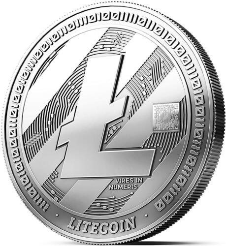 Physical Silver Litecoin Collector Gift Coin Art Collection Gold Silver Copper