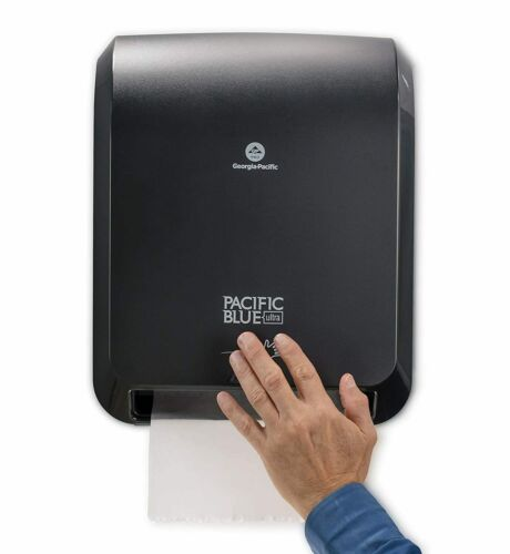 Georgia-Pacific Pacific Blue Ultra Automated Paper Towel Dispenser - Black