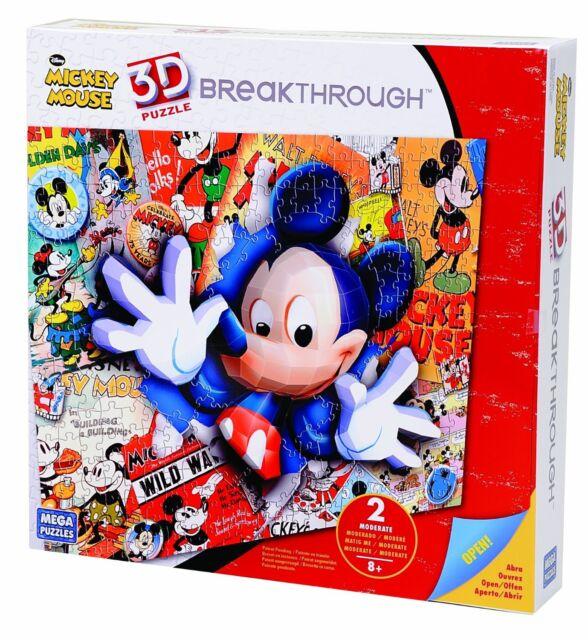 Mega Bloks 3D Breakthrough Disney Mickey Puzzle