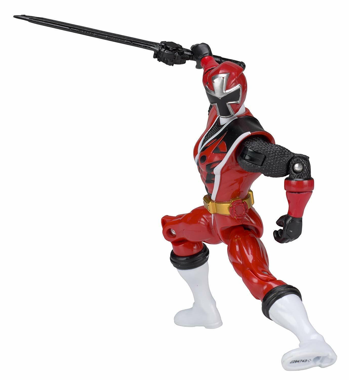 """Power Rangers Ninja Steel 5"""" Red Ranger Action Hero"""
