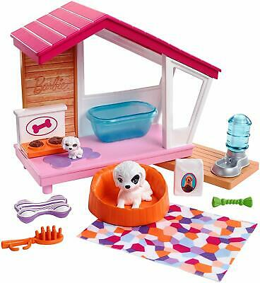 Barbie Puppies and Dog House FXG34