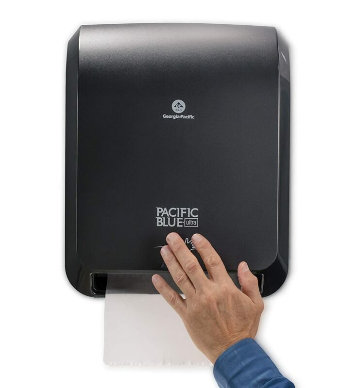 NEW Ultra Automated Paper Towel Dispenser hands-free operation Pacific Blue F/S