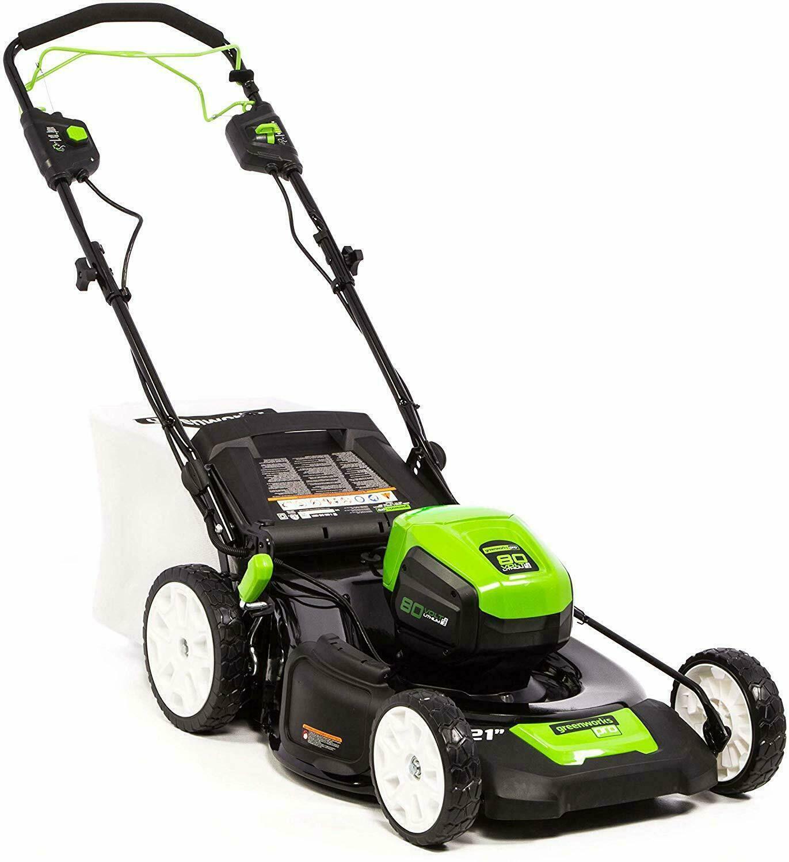 Greenworks Pro 80 V Self Propelled Lawnmower