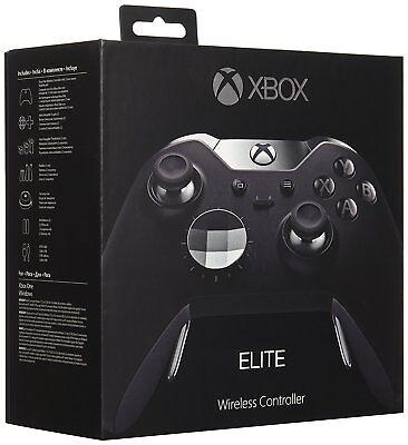 Microsoft   Xbox Elite Wireless Controller For Xbox One   Black  Brand New