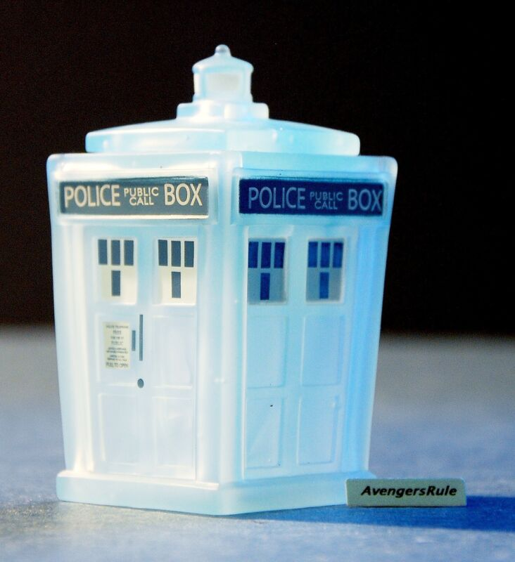 Doctor Who Titans The Fantastic Collection Vinyl Figures Materializing Tardis