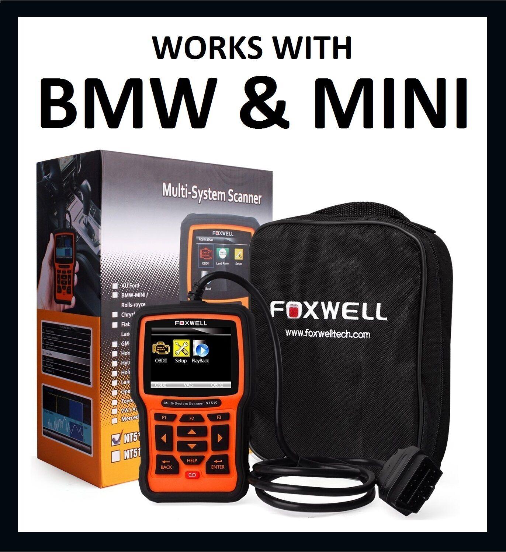 Foxwell Bmw Mini Diagnostic Scanner Tool Reader Code Scan