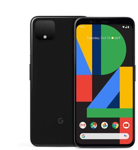 Google Pixel 4 XL 64GB - Black - CDMA + GSM UNLOCKED - Android Smartphone