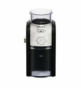 Krups Expert GVX231 Burr Coffee Grinder 225g/12 Cup Capacity 1 Year Guarantee