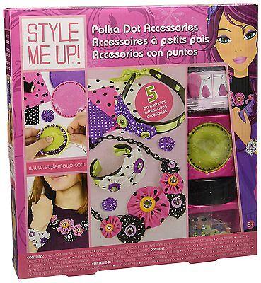Style me up Smu Lunares Accesorios de Niña Juego Manualidades