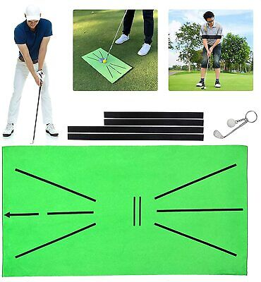 Golf Training Mat for Swing Detection Batting Practice Training Aid Game 30x60cm