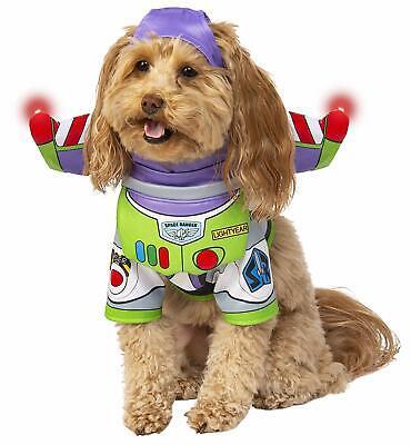 Buzz Lightyear Toy Story Disney Pixar Fancy Dress Halloween Dog Cat Pet Costume