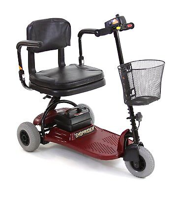 Shoprider Echo 3 Mobility Scooter - Red