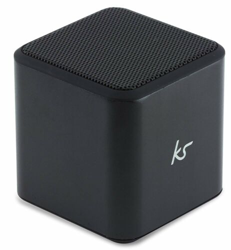 KitSound Cube Universal Bluetooth Portable Speaker (Black)