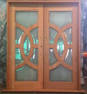 Cedar Timber Olympic Entry Doors,2100h 1700w