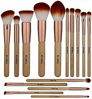 15 pc,Morphe Professional Cosmetic Makeup Brush Set Eyeshadow Foundation Brushe